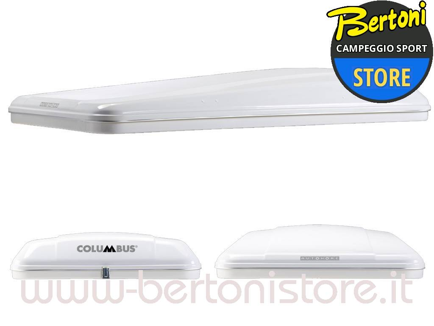 Columbus Variant Medium Grey CVG/02 AUTOHOME - Bertoni Store