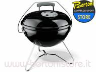 Barbecue a Carbonella Smokey Joe Premium Ø 37 Nero 1121004 WEBER