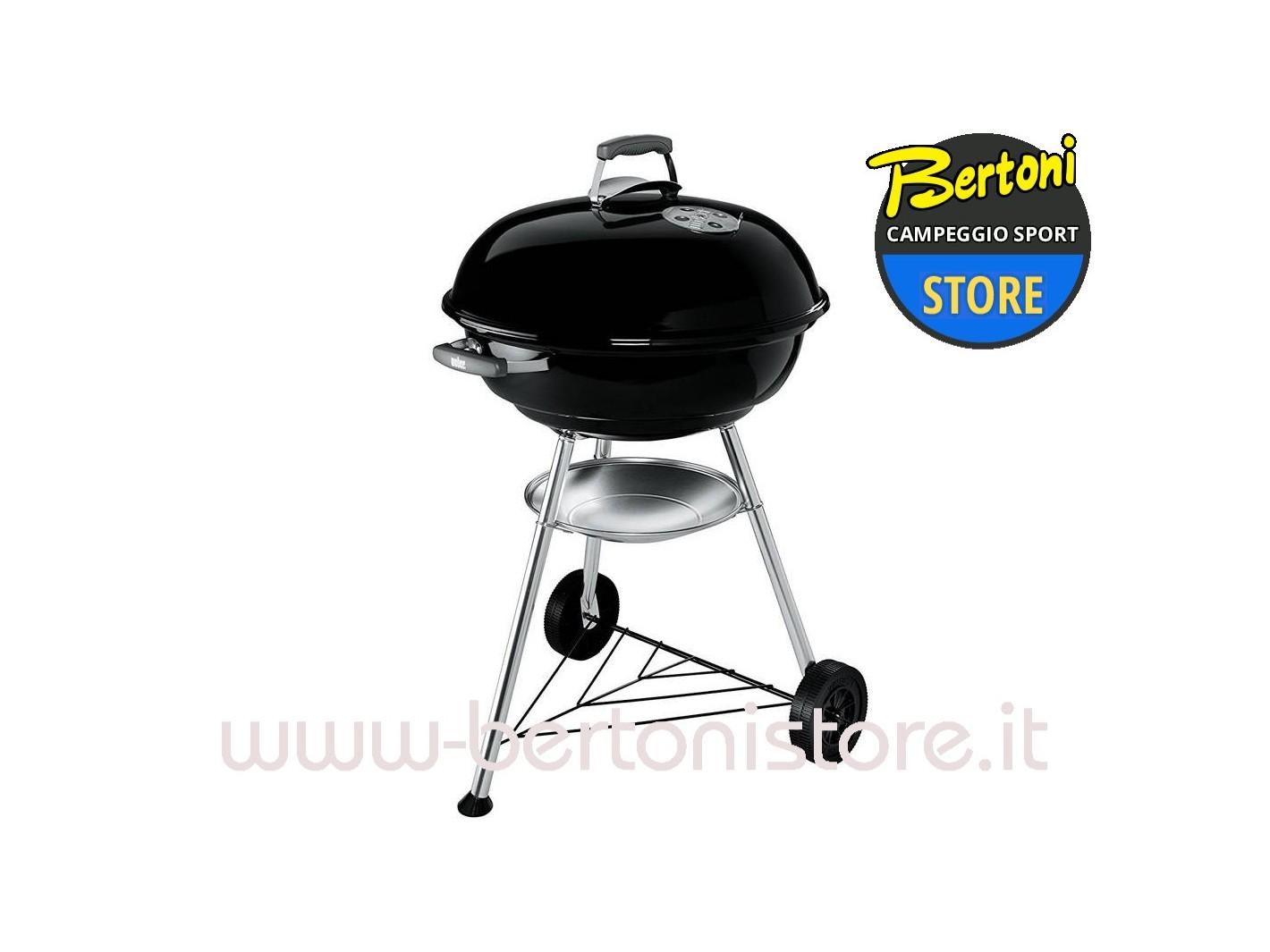 barbecue a carbonella compact kettle 57 nero 1321004 weber bertoni store milano. Black Bedroom Furniture Sets. Home Design Ideas