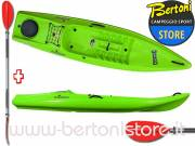 Canoa Rigida in Polietilene Funny Expedition RAINBOW + pagaia KWB 220