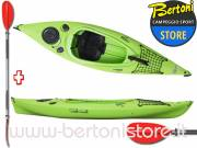 Canoa Rigida in Polietilene Oasis 2.90 Expedition RAINBOW + pagaia KWB 220