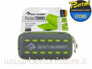 Asciugamano Microfibra Pocket Towel Lime 120 X 60CM DSEMINILZZ00 SEA TO SUMMIT