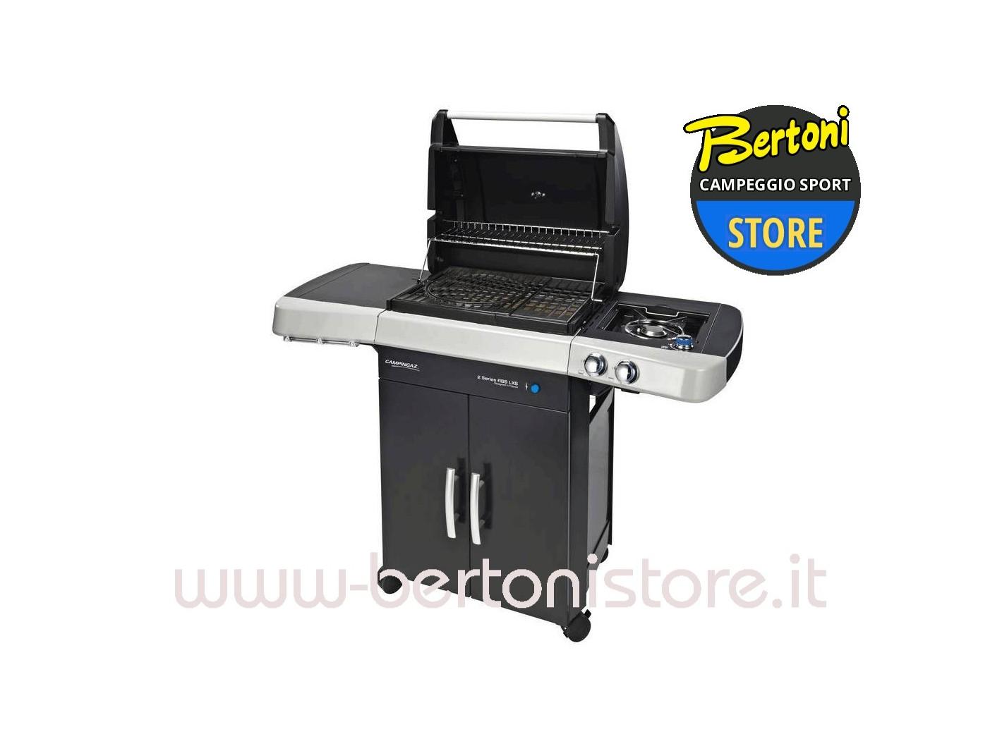 barbecue a gas 2 series rbs lxs 2000025147 campingaz bertoni store milano. Black Bedroom Furniture Sets. Home Design Ideas