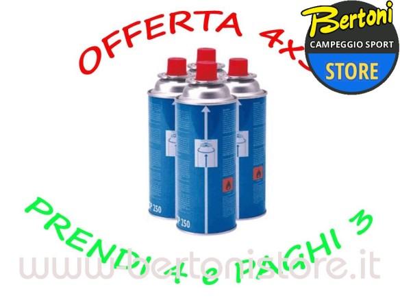 Cartuccia Di Gas CP 250 CAMPINGAZ - KIT 4 PEZZI