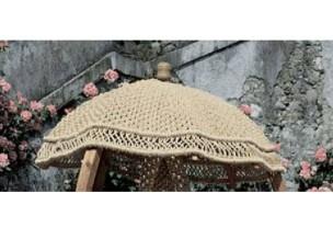 A2023 parasole in fibra naturale LA RETE