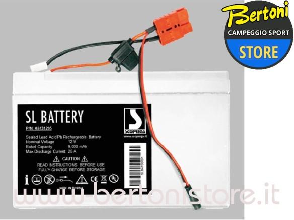Kit batteria al Piombo Ricaricabile SL BATTERY K6131295 SCOPREGA