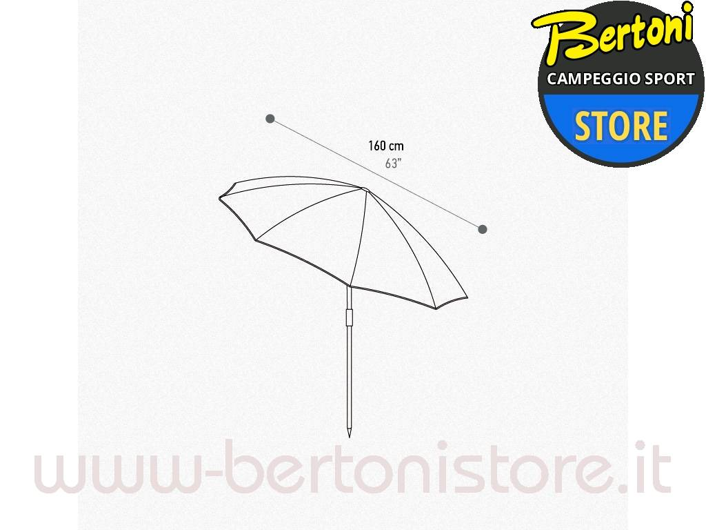 Terra Nation  Rua Kiri Unisex Outdoor Umbrella