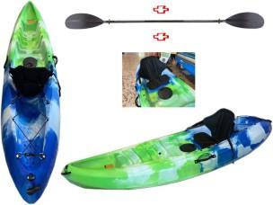 Canoa Rigida 773-5 Wanaka Kit Green/Blue + Pagaia + Seggiolino OUTRIDE TOM CARUSO