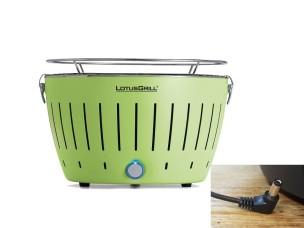 Barbecue a Carbonella Portatile Verde LG G34 U GR LOTUS GRILL