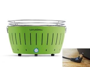 Barbecue a Carbonella Portatile XL Verde LG G435 U GR Lotus Grill