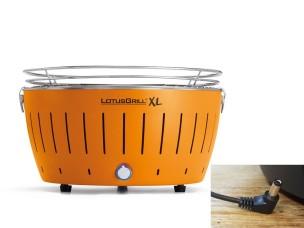 Barbecue a Carbonella Portatile XL Orange LG G435 U OR Lotus Grill