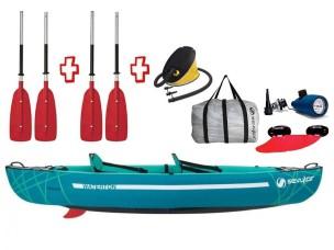 Canoa Gonfiabile Waterton + pompa + 2 pagaie divisibili 2000030757 SEVYLOR