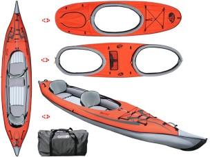 Canoa Gonfiabile AdvancedFrame™ Convertible Red AE1007-R-K1 + AE2021-R + AE2022-R Advanced Elements