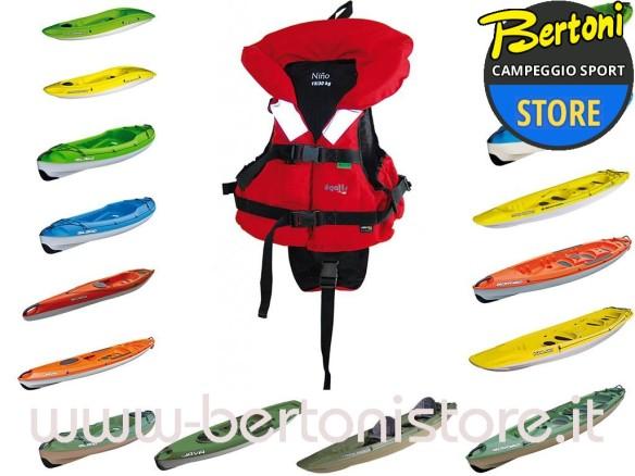 Gilet Kayak Nino 15-30 Kg. 105374 BIC SPORT