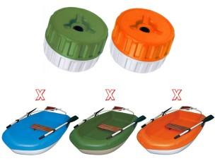 Ruota Sportyak 245 green 106408 BIC SPORT