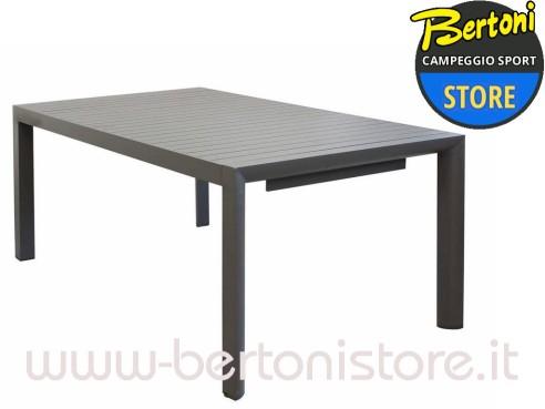 Tavolo Alluminio Garda 180/240 x 100 cm BERTONI