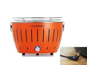 Barbecue a Carbonella Portatile Arancione LG G34 U OR LOTUS GRILL