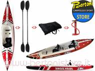 Canoa Gonfiabile V-Shape Duo Drop Stich 30021 JBAY.ZONE
