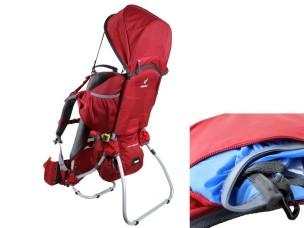 Zaino Porta Baby Kid Comfort 1 Cranberry 6620020.5000 DEUTER