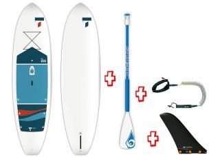 "Sup Rigido 10'0"" Beach Cross TT 106828 + Pagaia Alu + Leash BIC SPORT - TAHE"