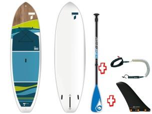 "Sup Rigido 10'0"" Breeze Cross AT 106856 + Pagaia Fiber/Poly + Leash BIC SPORT - TAHE"