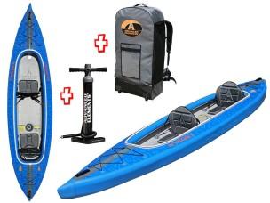 Canoa Gonfiabile AirVolution 2 Kayak AE3030 Advanced Elements