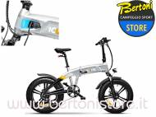 Bicicletta Pieghevole Elettrica X5 IdESERT Stardust Silver 221503 ICONE