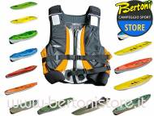 Gilet Giubbino Kayak DE LUXE JUNIOR 31517 BIC SPORT