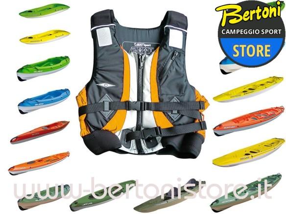 Gilet Giubbino Kayak DE LUXE -S- 31518 BIC SPORT