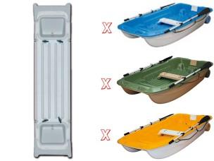 Panca Sportyak 245 green + elastico 106409 BIC SPORT - TAHE