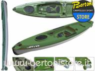 Canoa Rigida in Polietilene Java Fishing 100097 BIC SPORT