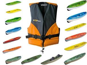 Gilet Giubbino Kayak BEACH S 101400 BIC SPORT
