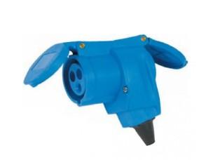 1081025 Presa Angolare CEE 16A+ DE BERTONI